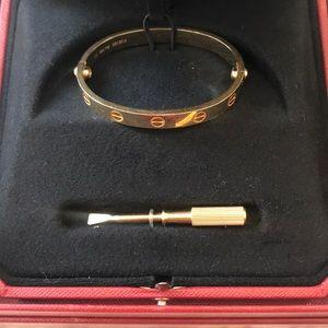 Cartier love cuff 🌟✨